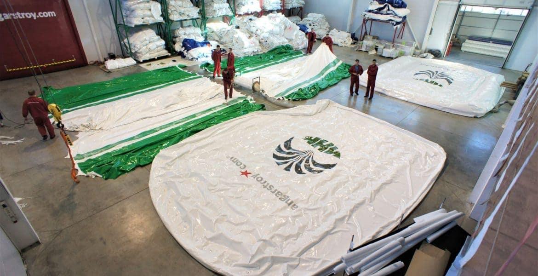 Ткань ПВХ для надувных конструкций