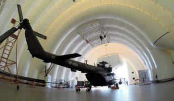 Авиационный гараж для хранения и ремонта