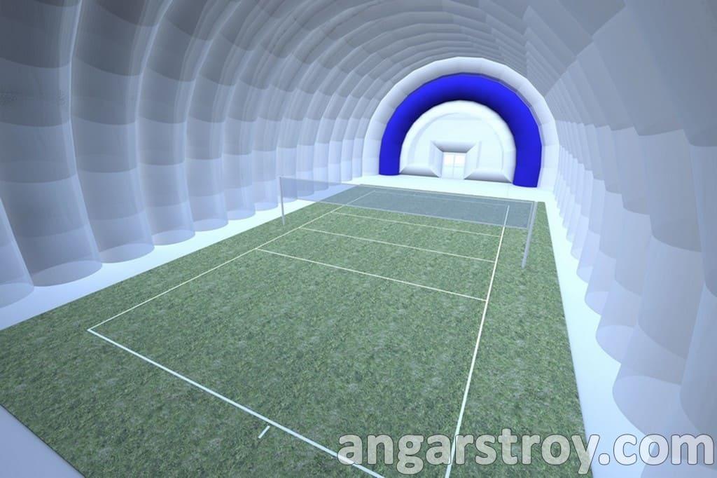 Проект спортивного ангара