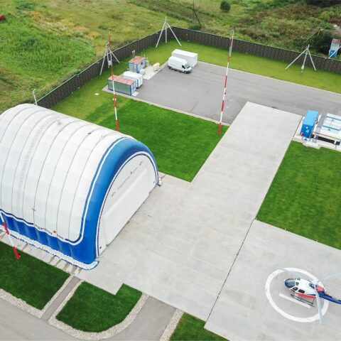 Hangar for Eurocopter AS 350