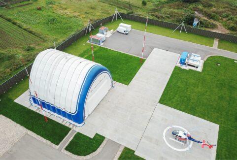 Hangar for Eurocopter AS 350