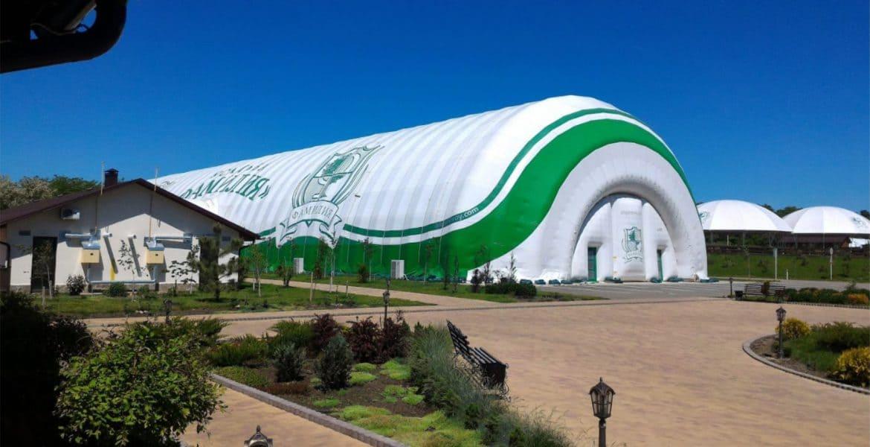 Спортивный комплекс в ангаре