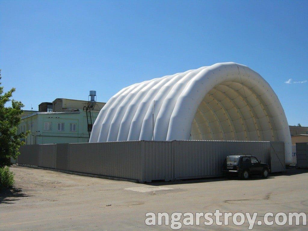 Центральная секция ангара склада
