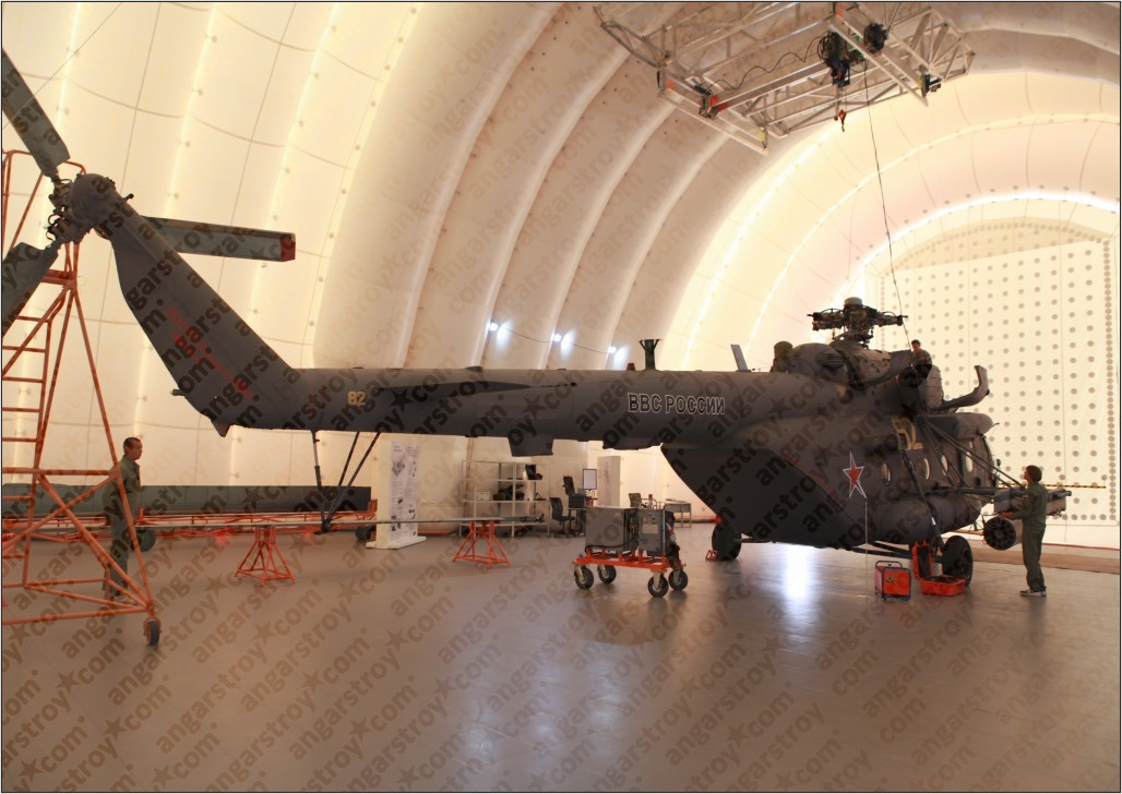 Ангар для вертолетов