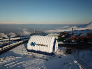 Гараж для строительной техники и карьерных самосвалов Caterpillar 777 (600 кв.м) ПАО «ГМК «Норильский Никель»