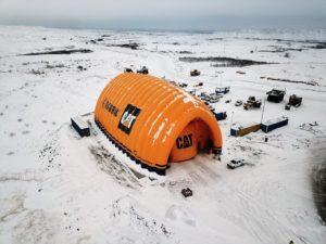 Мобильный сервисный центр  для обслуживания и ремонта техники Caterpillar  (600 кв.м.) «Мантрак Восток»