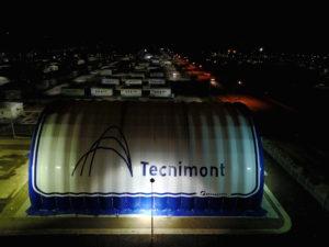 Спортивный зал  (600 кв.м) «Текнимонт»