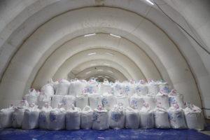Склад для хранения оборудования и материалов (800 кв.м) «Иркутская Нефтяная Компания»