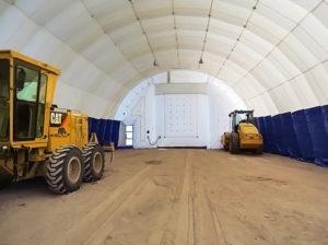 Гараж для техники и хранения оборудования (180 кв.м) «ТрансСтройСибирь»